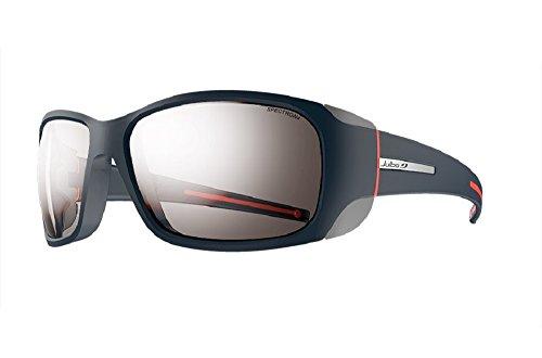 Julbo Monterosa Sunglasses, Dark Blue/Grey/Coral with Spectron 4 Lenses