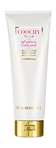 Coochy Conditioning Shave Cream Original, Remove Bikini Area Bumps, Great for Sensitive Skin, Soothes Skin by Pure - Bikini Hustler