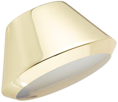 PLC Lighting TR201 PB Comet I Collection Track Lighting Lamp Shade, Polished Brass