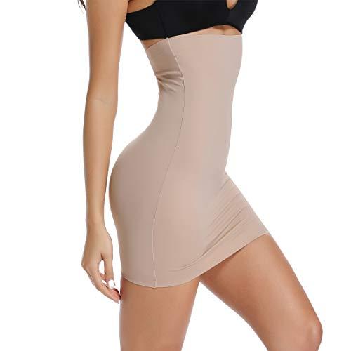 Joyshaper Slimming Half Slips for Under Dresses Women Seamless Slip Dress Shapewear Slips Skirt