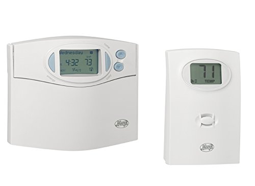 Sensor Thermostat Remote Temperature (Hunter 44668 Comfort Saver 7 Day Room Control Thermostat)