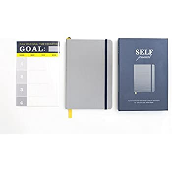 """The SELF Journal Graduation Advanced Edition Planner for Repeat Journalers and """"Graduate"""" Power Users (Silver)"""