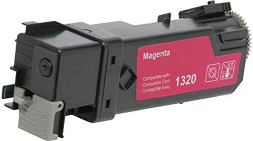 MSE Model MNB027013310 Non-OEM New High Yield Magenta Toner Cartridge Compatible With Dell 1320c and 1320cn Color Laser Printers, Up to 2000 Pages Based On @ 5% Coverage