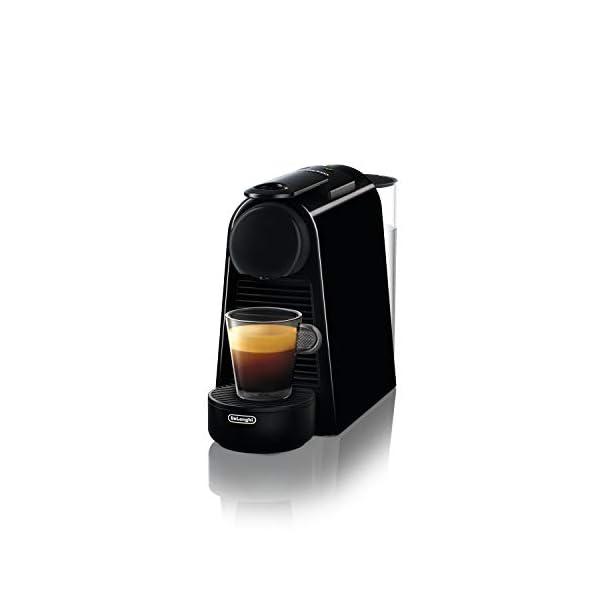 De' Longhi En85.B Macchine per Il caffè a Sistema Nespresso Essenza, 1370 W, 0.6 milliliters, Plastica, Nero 1
