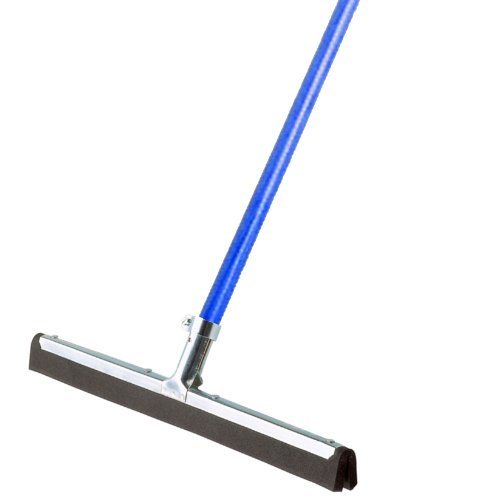 (Ettore 61054 Wipe and Dry 18-Inch Floor Squeegee with 53-Inch Handle)