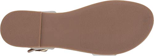 M Madden Grey Sandal Dina Women's 10 Leather Us Steve wPTdq0xg0