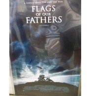 Signed Eastwood, Clint (Flags of Our Father) 27x40 Original Movie Poster autographed