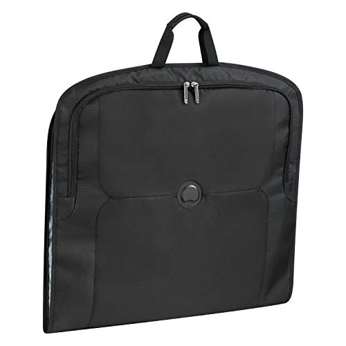 Delsey Paris MERCURE Travel Garment Bag, 105 cm, 4,4 liters, Black (Schwarz)