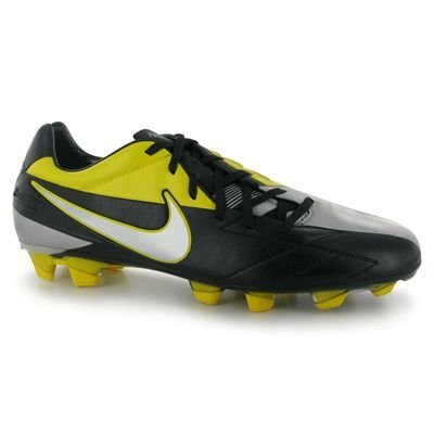Zapatillas De Fútbol Nike T90 Laser Iv Kl-fg Para Hombre Black / Yellow Black / Tour Yellow / Mtlc Lustre
