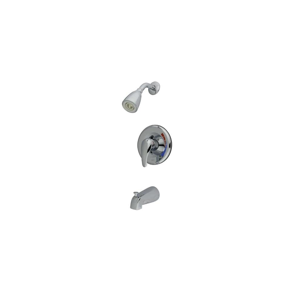 Elements of Design EB651T Chatham Trim Only for Single Handle Tub and Shower Faucet, Polished Chrome