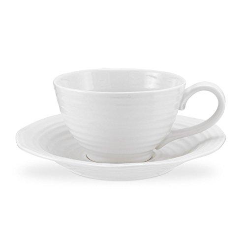 Jumbo Saucer (Portmeirion Sophie Conran White Jumbo Cup and Saucer)