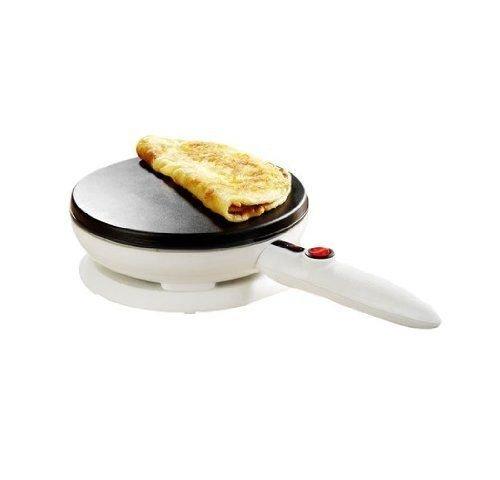 Crepe Maker Machine Cooking Equipmen Kitchen Pancake Waffle Non Stick Griddle by Waffle crepe maker (Image #3)