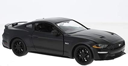 Motormax New Mtm79352bl Ford Mustang Gt 2018 Matt Black 1 24 Die Cast Model Spielzeug