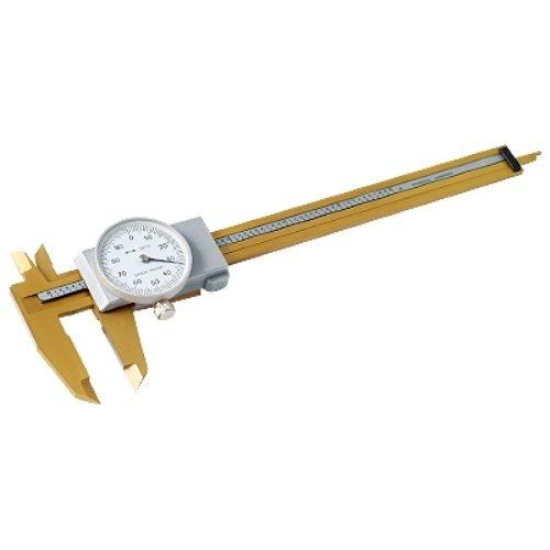 Hhip 4100–020815,2cm Cadran à coulisse avec revêtement en TiN, 0–15,2cm Range, 0cm Précision, 0,001Graduation 2cm Cadran à coulisse avec revêtement en TiN 0-15 2cm Range 0cm Précision