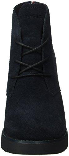 Bottes P1285etra Hilfiger 2b Bleu Tommy 403 Classiques Nuit Femme Bleu qR1wxtAag