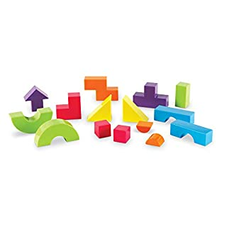 Learning Resources Mental Blox 360 Degree 3-D Building Game, Puzzle and Problem Solving, Ages 5+