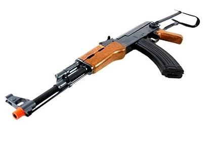 cyma aeg full auto airsoft full size full metal ak-47 350 fps cm028s  airsoft gun(Airsoft Gun)