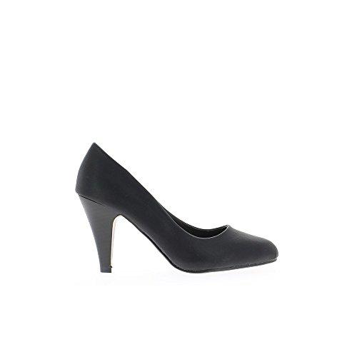 Escarpins femme noirs talon de 8 cm