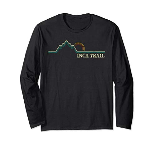 The Inca Trail Peru Machu Picchu Hiking Camping Shirt