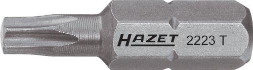 Hazet 2223-T20 Schraubendreher-Einsatz (Bit), s: T20, Innensechskant 6,3 mm (1/4 Zoll), Innen TORX