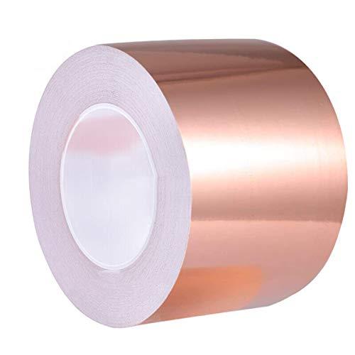 Cinta de lámina de cobre (10cmx100cm)con adhesivo conductor