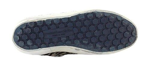 4barra12 Sneaker Suprime 2070 Zebra/White Taglia 40 - Colore Bianco