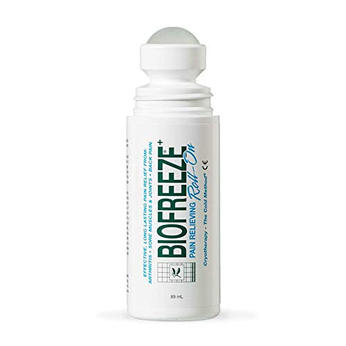 BIOFREEZE Pack of Six (6) 3 Ounce Roll Ons by Performance Health, Inc