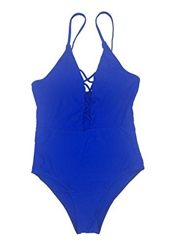 VLUNT - Traje de una pieza - para mujer Azul