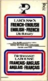 img - for Larousse's French-English English-French Dictionary: Two volumes in one (English and French Edition) book / textbook / text book