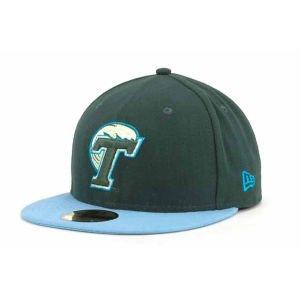 Amazon.com   New Era Tulane Green Wave NCAA 2 Tone 59FIFTY Cap ... 28e59a9783a