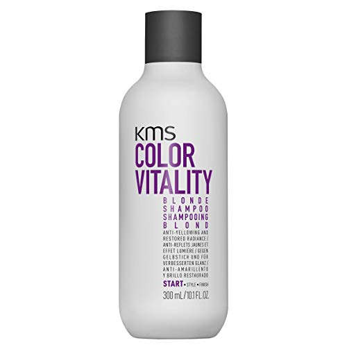 KMS COLORVITALITY Blonde Shampoo, Anti-Yellowing and Restored Radiance, 10.1 oz