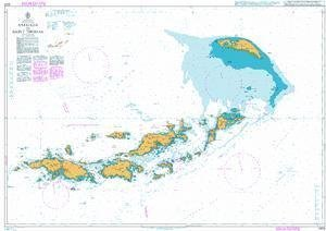 Ba Chart 2006  West Indies, Virgin Islands, Anegada to Saint Thomas by United Kingdom Hydrographic Office