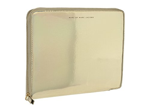 Marc by Marc Jacobs Techno Tablet Sleeve Pale Gold Holographic One Size