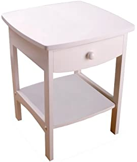 Stupendous Amazon Com Winsome Wood Claire Accent Table Walnut Creativecarmelina Interior Chair Design Creativecarmelinacom