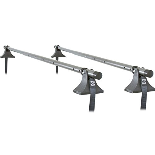 (Apex TRCB-4460-U Universal Telescoping Strap - Attached Steel Roof Cross Bars)