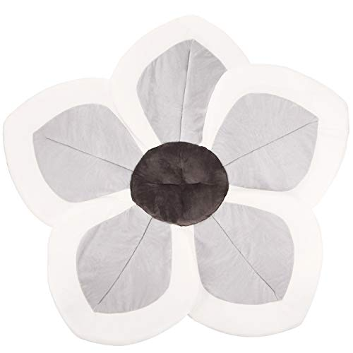 Baby Bath – Flower Baby Bath Pad Infant Bathtub Mat for Bathtub Tub Sink – Gray2
