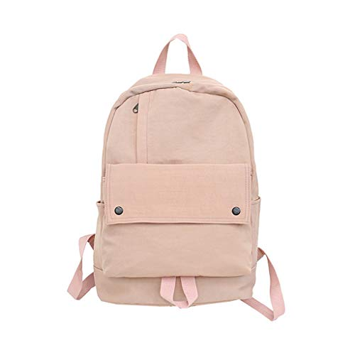 Gifts School Bag Shoulder Valentines Thanksgiving Rucksack Backpack Canvas Tyjie Unisex Handbag Pink Travel Satchel Christmas naWfOdpx