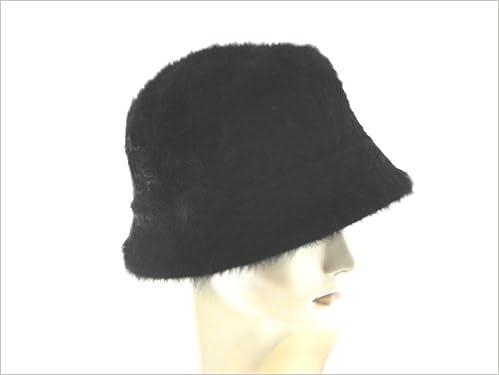 bb87312b2b902 Angora Bucket/Cloche Hat (Black): 7299496001841: Amazon.com: Books