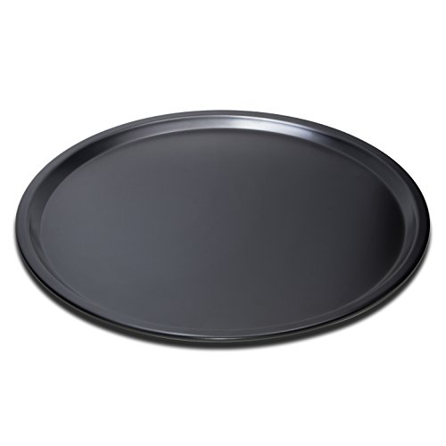 EDOBLUE Nonstick Pizza Pan Carbon Steel Pizza Tray Pie Pans (14inch)