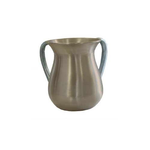 World Of Judaica Yair Emanuel Ritual Hand Washing Cup in Gold Aluminum
