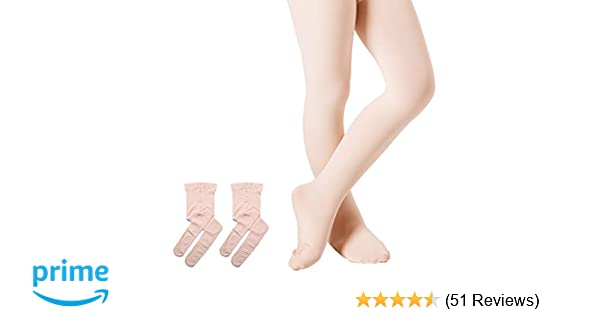 618a3492944c Amazon.com  DIPUG Ballet Tights for Girls Pro Ultra-soft Durable ...