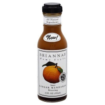 Mandarin Orange Dressing (Brianna's Ginger Mandarin Dressing (Pack of 1 - 12oz Bottle))