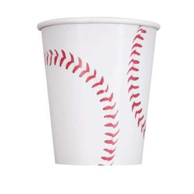 Baseball Theme Party Supplies Set - Plates, Cups, Napkins, Tablecloth Decoration (Serves 16) by Baseball (Image #5)