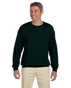 Gildan Men's Heavy Blend Crewneck Sweatshirt - Medium - Forest Green