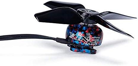 nur UAV-Blatt AKDSteel Propellerbl/ätter Propeller Micro Drone Ersatzteile f/ür JJRC H36 RC Quadcopter 1 4er-Set