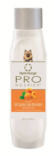 HydroSurge Pro Nourish Exfoliating Skin Treatment with Sulfur Shampoo Apricot Scented 18 ounces, My Pet Supplies