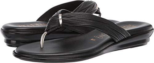 (ITALIAN Shoemakers Women's Aleena Black 6 M US)