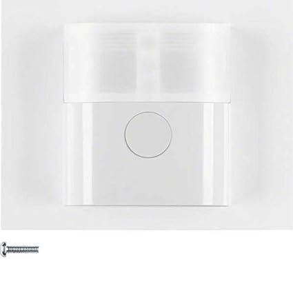 Hager - Detector movimiento confort 2,2m con interfaz k1 blanco polar