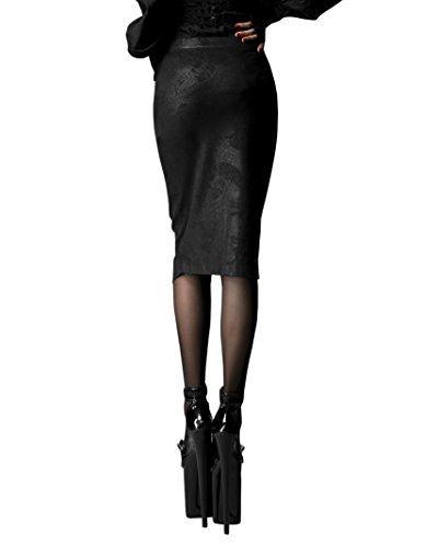Diseño Decadent 197 Faldas Punk Fangbanger nbsp;original Q Hobble Rock EqHdtxPqw