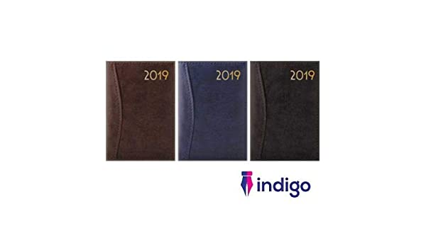 Indigo 2019 - Agenda semanal de piel de bolsillo (tamaño ...